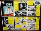 Vintage 1959 IDEAL ITC MODEL CRAFT HOBBY KITS Dealer CATALOG Pages Cars Boats +