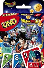 UNO CARD GAMES  DRAGON BALL SUPER FROM JAPAN FREE SIPPING F/S