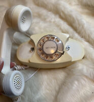 Vintage 1960s Western Electric Princess Rotary Dial Telephone Model 702B Phone