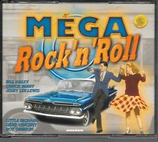 COFFRET 4 CD COMPIL 100 TITRES--MEGA ROCK 'N' ROLL--HALEY/BERRY/LEE LEWIS/DOMINO