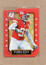 tamba hali kansas city chiefs 2013 elite red status card 51  11/25