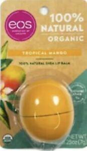 eos 100% Natural Organic TROPICAL MANGO Lip Balm