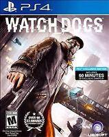 Watch Dogs (Sony PlayStation 4, 2014)