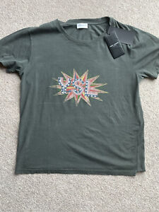 yves saint laurent Ladies  T-shirt USA Stars Size S
