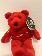 "Salvino's Bammers Brendan Shanahan Red Wings #14 Bean Bag 9"" Bear With Tag"