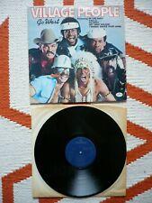 Village People Go West Vinyl UK 1979 Mercury Disco LP YMCA In the Navy