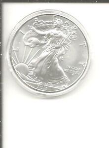 2011-W (Burnished) Silver American Eagle (w/Box & CoA)
