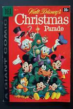 Dell Giant, Christmas Parade #9, 1958 High Grade   20 pgs. of Carl Barks Art