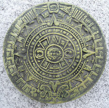 Aztec calendar stepping stone mold plaster concrete plastic mould