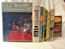 EIGHT 1STS Books on FORD COBRA SHELBY  LE MANS RACING