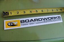 BOARDWORKS Epoxy Surfboards Longboard Surftech V7 Vintage Surfing STICKER