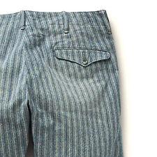 Polo Ralph Lauren Double Ralph Lauren RRL 1940s británica Oficial De Rayas Chinos Pantalones de $340+