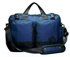 "New Woolrich x The Hill-Side 15"" Navy Nylon Men's Briefcase in 13 Liter"