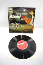 Bambi Walt Disney Electrola  Schallplatte   33  Z : gut   (WR1)
