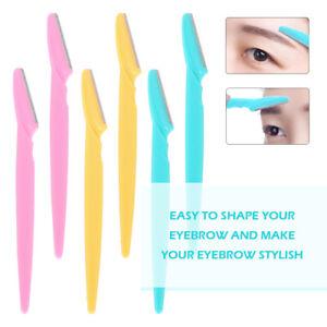 20X Eyebrow Razor Dermaplaning Painless Portable Facial Shaper Tool Color Random