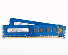 Hynix 8GB 2x 4GB DDR3 1066MHz 2RX8 PC3-8500U Kit de memoria RAM 240PIN DIMM para Computadora De Escritorio