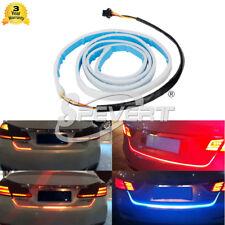 120CM Car Trunk Red&Blue Tailgate LED Strip Light Backup Brake Tail Turn Signal