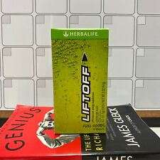 Herbalife Liftoff 10 energy tablets multivitamins from ginseng LEMON LIME