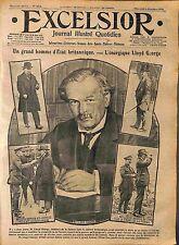 David Lloyd George Field Marshal Douglas Haig Maréchal Joffre la Somme WWI 1916