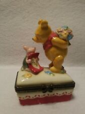 Disney Designed By Midwest of Cannon Falls Winnie The Pooh Trinket Box