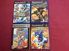 Sonic Ps2 Paquete De Juegos X4. Colección Gemas Sonic, Sonic Riders Zero Gravity