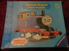 2002 THOMAS & FRIENDS SHAPED  FLOOR PUZZLE - 24 PC - BY RAVENSBURGER - USA