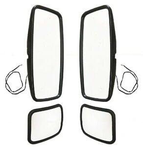 New Wide Angle Convex Mirror PAIR FOR 1998-2004 Hino FE2620 FB1817 FD2220 SG3325