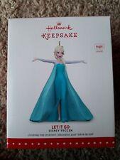 Hallmark Keepsake Ornament Let It Go Disney Elsa 2015 Musical Frozen 2 Christmas