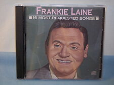16 Most Requested Songs By Frankie Laine 1989 CD CBS-Columbia Records CK45029