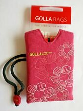 "New Golla ""Happy"" Pink Digi Bag For Compact Digital Cameras & Mobile Phones"