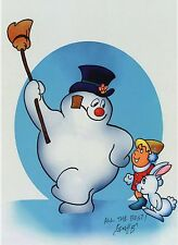 Frosty The Snowman Cute Christmas Signed Color 8.5x11 Tribute Print