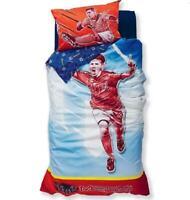 Barcelona FC Lionel Leo Messi Soccer Football Single  Bed Quilt Cover Set