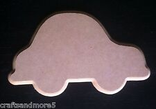 DIY Unfinished MDF Wood / Wooden Car Plaque Shape ~ 24cm x 14.5cm