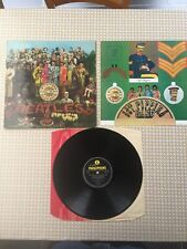 The Beatles - Sgt. Pepper's Lonely Hearts Club Band Parlophone PMC 7027 UK