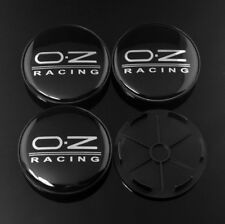 4x 68mm (61.5mm) OZ Racing Wheel Hub Center Caps Emblem for RPF1 15x7's Rim