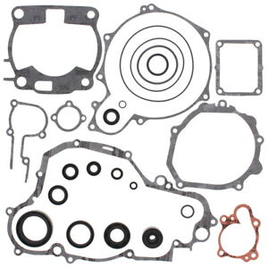 Vertex Complete Gasket Set with Oil Seals - Yamaha YZ250 90-91