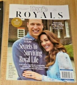 Special Iss PEOPLE Magazine Fall 2021 ROYALS WILLIAM & KATE #3