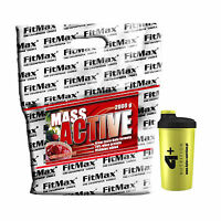 Mass Active 2kg 4,40lb Weight Gainer Whey Protein Powder Mega Anabolic Gain Fast