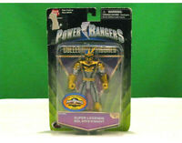 * NEW Power Rangers SUPER LEGENDS SOLARIS KNIGHT From Mystic Force Series *