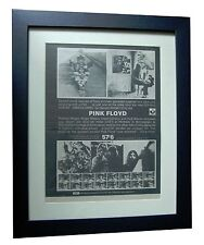 PINK FLOYD+Ummagumma+POSTER+AD+RARE ORIGINAL 1969+QUALITY FRAMED+FAST WORLD SHIP