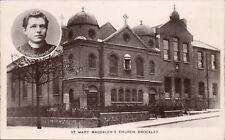Brockley. St Mary Magdalen's Church. Rev. Deydier.