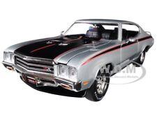 """1971 BUICK GSX """"MCACN"""" PLATINUM MIST/ SILVER 1/18 DIECAST BY AUTOWORLD AMM1138"""