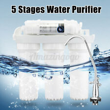 Home Drinking 5 Stage Water Filter Purifier Ultra-filtration Hollow Fiber System