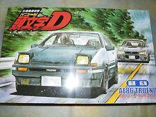 Fujimi 1/24 Initial D AE86 Carbon Bonnet Fujiwara Takumi Ver. Model Car Kit