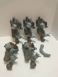 Freakenstein Small Soldiers Gorgonite 7 Inch Action Figures Part lot of 5