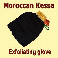 Doux Marocain Kessa Hamam douche Gant Exfoliant gommage Visage Peau Sensible