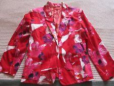 veste tailleur de la marque chacok taille 3 40/42 couleur rouge