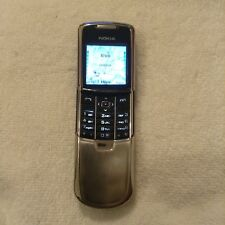 Nokia Sirocco 8800 - Silver (Unlocked) Mobile Phone