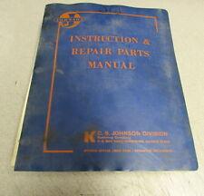 Johnson Instruction & Repair Parts Manual