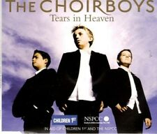 THE CHOIRBOYS  Tears in Heaven   4 TRACK CD  NEW - NOT SEALED   X FACTOR WINNER